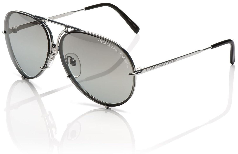 5414bf04a5e0 well-wreapped Porsche Designs Sunglasses P8478 B Titanium Gray Gradient  with Silver Mirror Green 66