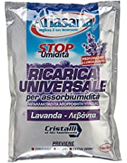 Ariasana 673947 Ricaricasali assorbiumidità, profumazione Lavanda, 1 Busta, 450 g