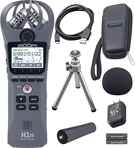 - Zoom H1n Handy Recorder - With Zoom APH-1n Accessory Pack