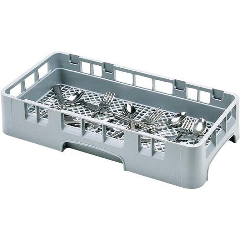 Cambro HFR258151 Camrack Polypropylene Flatware Washing Rack, Half Size, Soft Gray