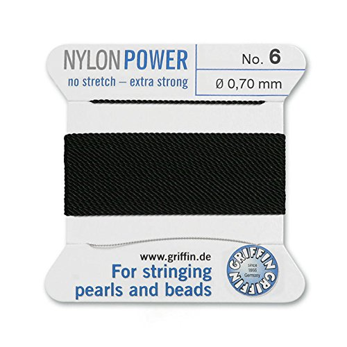 - Griffin Bead Cord Nylon Black #6