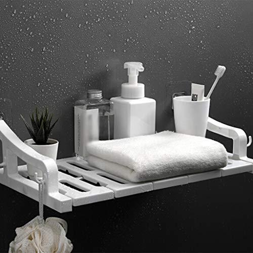Euone Clearance Sales,Bathroom Shelf 3-Tier Multifunctional Adjustable Layer Rack Wall Mounted
