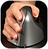 Ergonomic Wireless Vertical Mouse 3 - Optical Right Handed Mouse - For Comfort & Strain Elimination on Hand & Wrist - Compatible with all Computers & Laptops