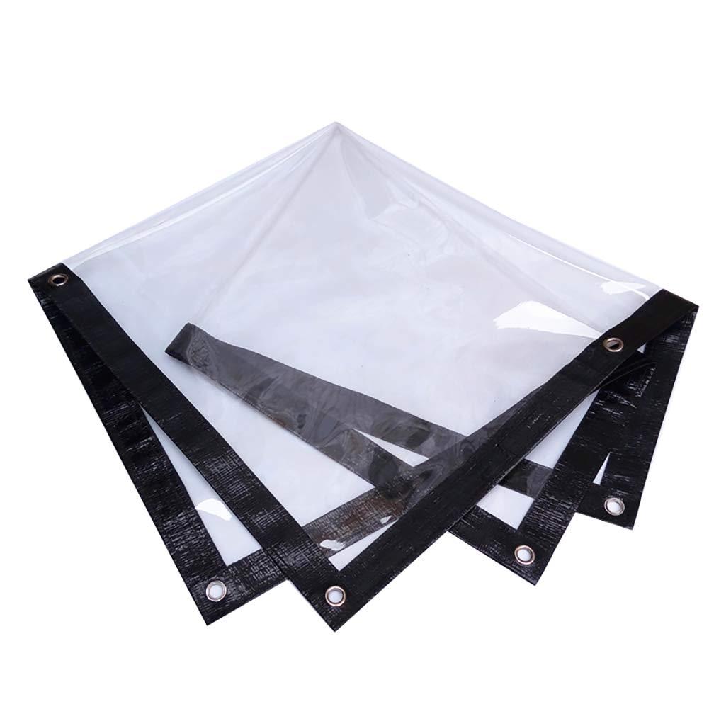 8070CM HQCC La bÂche transparente de PVC pour le film d'isolation de balcon, la feuille de sol antipoussière imperméable couvre le tissu versé (taille   120  300CM)