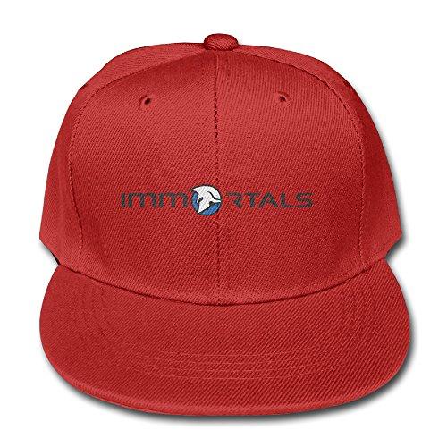 imt-immortals-logo-cotton-baseball-cap-boys-girls-snapback-hip-hop-flat-hat-red