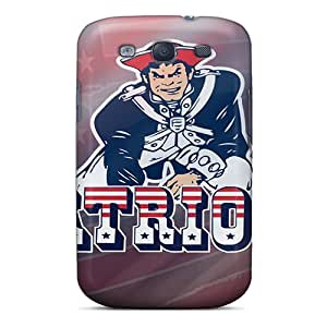 Durable Case For The Galaxy S3- Eco-friendly Retail Packaging(new England Patriots)