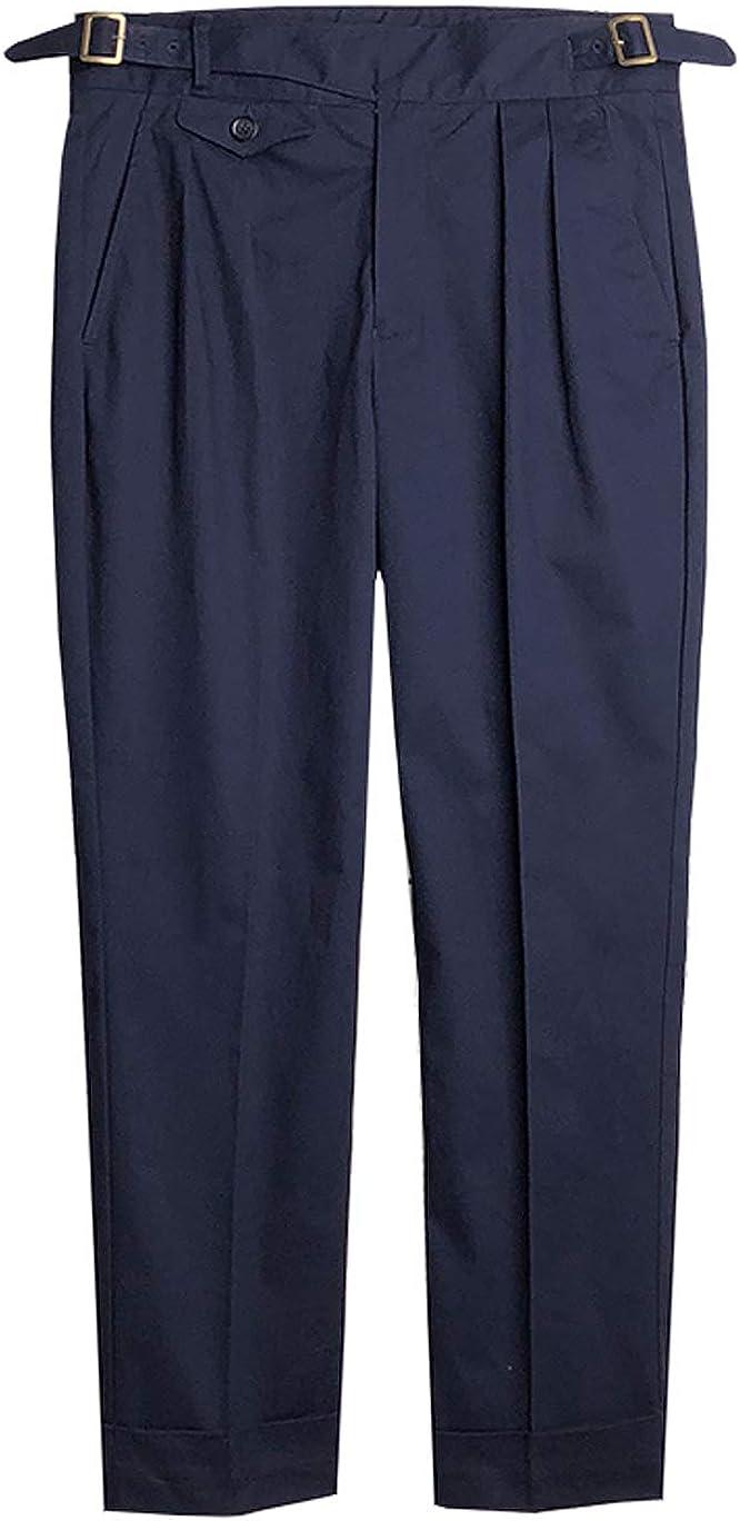 1950s Men's Pants, Trousers, Shorts | Rockabilly Jeans, Greaser Styles VTGDR Ankle Length Gurkha Pants for Men $80.99 AT vintagedancer.com
