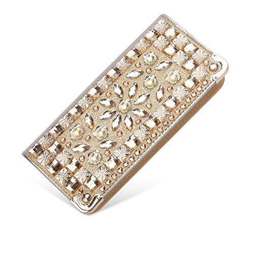 Diamant Mariage J1 Bandoulière Main D'embrayage Diagonale Soirée Portefeuille Dîner De Femme Pour Tendance Dames J4 Robe À Couleur Sac TqwYZZ