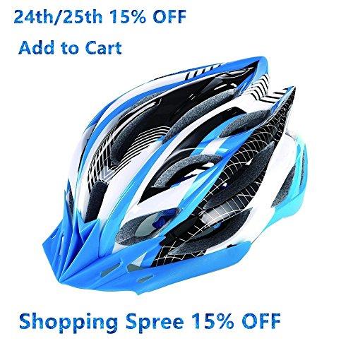 Baseca-Elastic-Ultralight-Mens-Womens-RoadMountain-Bike-Helmet-with-22-Vents