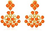 Kenneth Jay Lane Gold-Plated Cabochon Clip-On Earrings