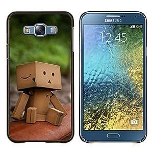 Queen Pattern - FOR Samsung Galaxy E7 E7000 - Nature Beautiful Forrest Green 159 - Cubierta del caso de impacto con el patr???¡¯???€????€????&s