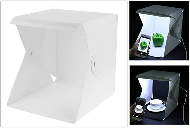 LIBWX Caja portátil para Estudio fotográfico, Mini Kit para Carpa ...