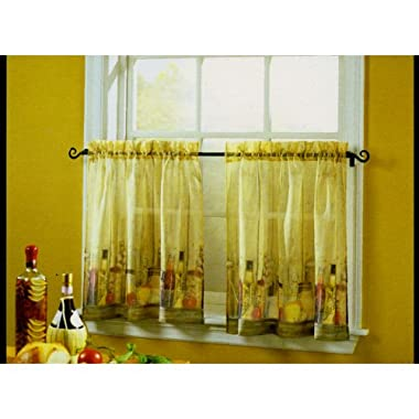 Tuscany 24  Tier Curtain Pair By S. Lichtenberg