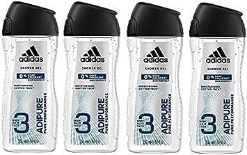 adidas adipower Duschgel für Herren 3 in 1 – Aktivierendes Shower Gel für Körper, Haare & Gesicht – pH hautfreundlich – 2er Pack (2 x 250 ml)