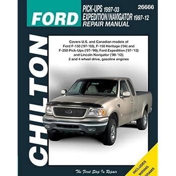 amazon com chilton repair manual ford 1997 2003 pickup 1997 2014 rh amazon com 1994 Ford F-150 XLT 4x4 1994 Ford F-150 XLT 4x4