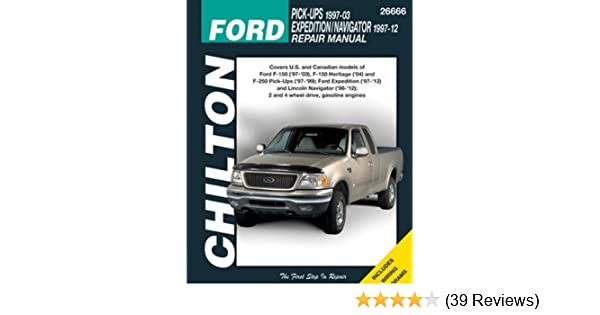 Amazon chilton repair manual ford 1997 2003 pickup 1997 2014 amazon chilton repair manual ford 1997 2003 pickup 1997 2014 expeditionnavigator automotive fandeluxe Gallery