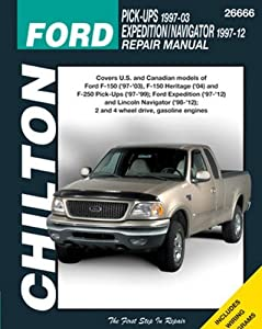 Amazon chilton repair manual ford 1997 2003 pickup 1997 2014 chilton repair manual ford 1997 2003 pickup 1997 2014 expeditionnavigator sciox Images