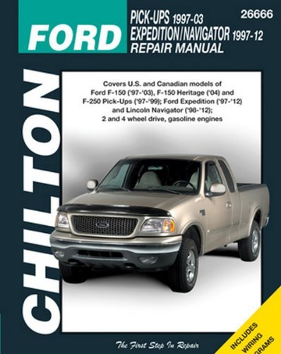 Amazon chilton repair manual ford 1997 2003 pickup 1997 2014 chilton repair manual ford 1997 2003 pickup 1997 2014 expeditionnavigator fandeluxe Gallery