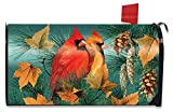 Briarwood Lane Autumn Splendor Cardinals Mailbox Cover Fall Birds Standard