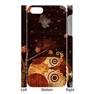Get Your Own Style Of Owl Case For 3D iPhone5 Image Cover Left And Right Side WANGJING JINDA