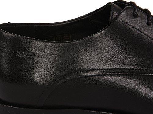 HUGO Schuhe C-Dresios aus Glattleder 50307676 Herren, Schwarz, 12