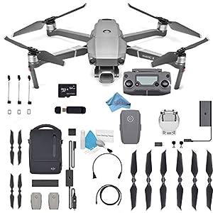 DJI Mavic 2 Pro Drone Quadcopter 24-48mm Optical Zoom Camera Video UAV 12MP 1/2.3″ CMOS Sensor (US Version) Flymore Bundle 510xFax jYL