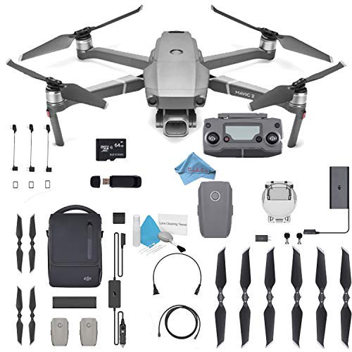 DJI Mavic 2 Pro Drone Quadcopter 24-48mm Optical Zoom Camera Video UAV 12MP 1/2.3