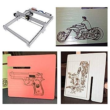 ETE ETMATE 50x40 cm CNC Laser Graviermaschine Kit 12 V USB Holzschnitzerei Gravur Schneidemaschine 2500 mW DIY Desktop Drucker Logo Bild Kennzeichnung Drucker