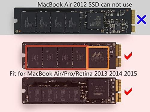 Carcasa externa de Macbook Air Pro Retina 2013, 2014, SSD, USB 3.0 ...