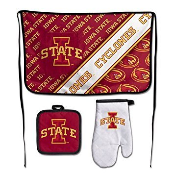 - WinCraft NCAA Iowa State University Barbeque Tailgate Set-Premium