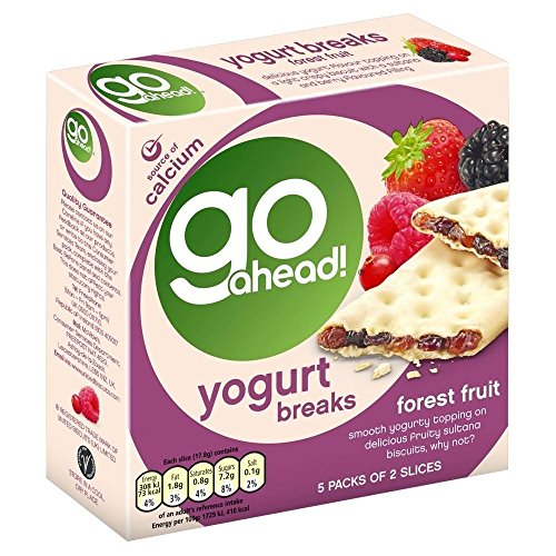 McVitie's Go Ahead! Yogurt Breaks - Forest Fruit (6 per pack - 177g)