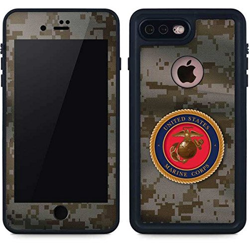 - Marines iPhone 8 Plus Case - Camo Marine Corps | Military X Skinit Waterproof Case
