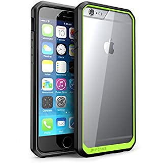 SUPCASE [Unicorn Beetle Series] Case Designed for Apple iPhone 6 4.7 inch, Premium Hybrid Protective Bumper Case Cover for iPhone 6 (Not Fit iPhone 6 5.5 inch) (Green) (B00ETOEXE2) | Amazon price tracker / tracking, Amazon price history charts, Amazon price watches, Amazon price drop alerts
