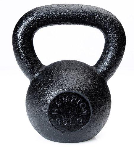 Hampton 35 lb Black Kettlebell