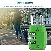 Zinc Alloy Security 3 Combinación Travel Maleta Equipaje