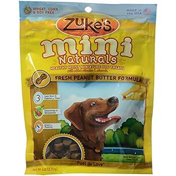 Zuke's, Mini Naturals Dog Treats, Peanut Butter, 6 oz