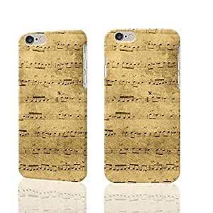 Sheet Music Photo Plastic Hard Customized Personalized 3D Case For iPhone 6 Plus - 5.5 inches by ruishername