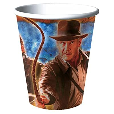 Indiana Jones Paper Cups, 8ct: Toys & Games