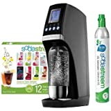 SodaStream Revolution Starter Kit, Black/Silver