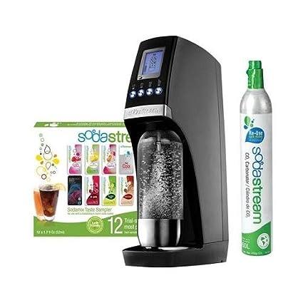 Amazon.com: SodaStream Revolution Starter Kit, Black/Silver ...