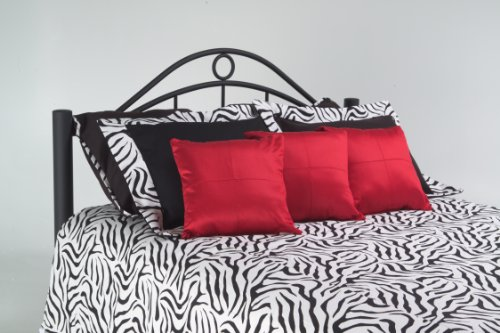Fashion Bed Group Linden Twin-Size Ebony Metal Headboard - Fashion Bed Twin Size Headboard