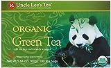 Uncle Lee's Organic Green Tea — 100 Tea Bags net wt 5.64 oz (160g)