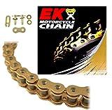EK Chain 520 SRX2 Quadra X-Ring Chain - 120 Links - Gold, Chain Application: All, Chain Length: 120, Chain Type: 520, Color: Gold EK 520SRX2 X 120 GLD