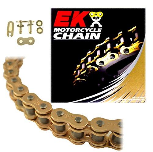 EK Chain 520 SRX2 Quadra X-Ring Chain - 120 Links - Gold, Chain Application: All, Chain Length: 120, Chain Type: 520, Color: Gold EK 520SRX2 X 120 -