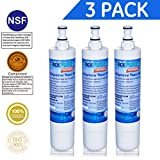 water filter 4392857 - Icepure RWF0500A Compatible With Whirlpool 4396508, 4396510,Filter 5,EDR5RXD1,NL240V,WFL400 Refrigerator Water Filter 3PACK