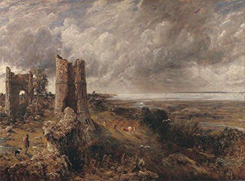 John Constable - Castillo De Hadleigh, La Desembocadura Del Támesis - Por La Mañana Después De Una Noche De Tormenta...