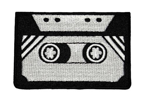 tape-cassette-retro-diy-applique-embroidered-sew-iron-on-patch-tcs-01