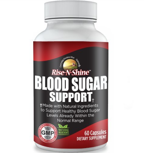 Blood Sugar Support Complex - Helps Support Healthy Blood Sugar Levels Naturally with Hibiscus Flower, Olive Leaf, Hawthorn Extract, Buchu Leaf, Juniper Berry Powder, Green Tea Leaf and more!