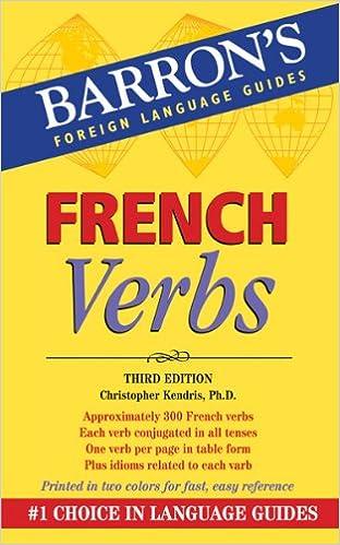Ilmainen kirja ladattavaksi French Verbs by Christopher Kendris PDF iBook