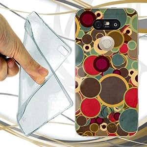 CUSTODIA COVER CASE ANNI 70 DESIGN PER LG G5